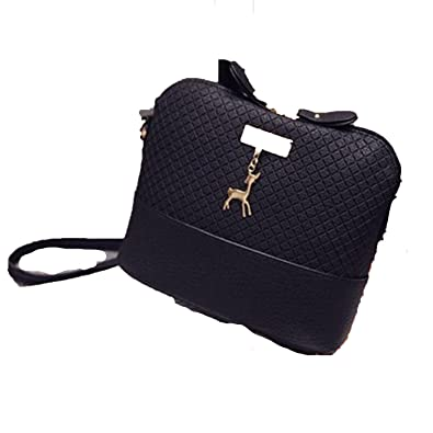2018 Women Shoulder Bags Fashion Mini Bag With Deer Toy Shell Shape Women  Small Messenger Crossbody 7166bb158c568