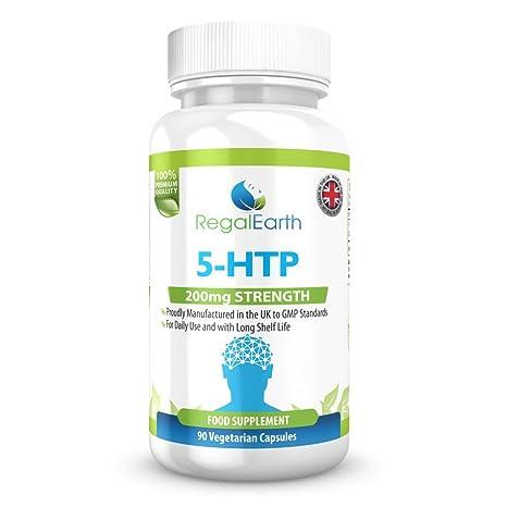 5-HTP 200mg cápsulas vegetarianas para los hombres y de las mujeres - Estimular la