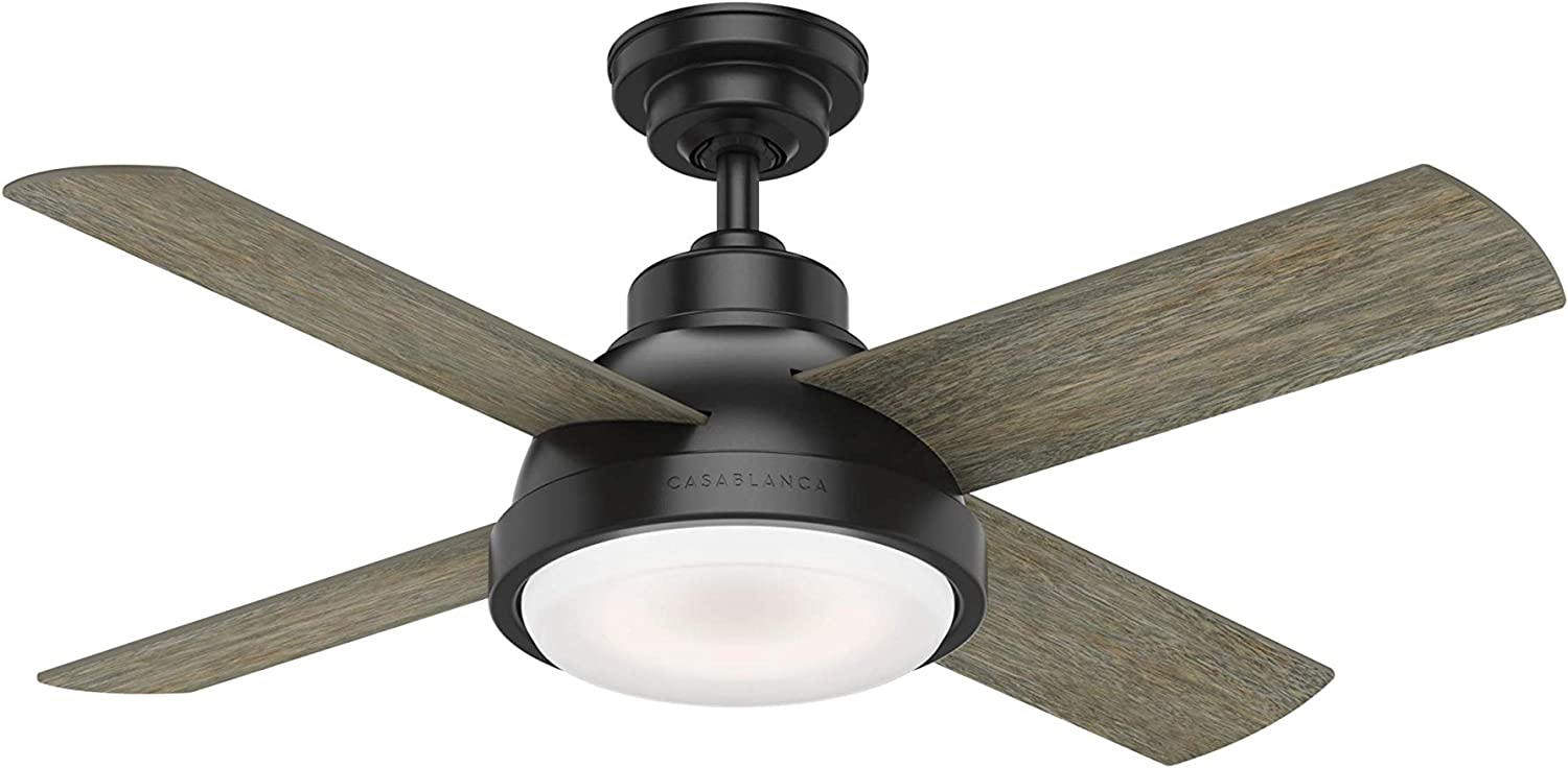 Casablanca Fan Company 59435 Casablanca 44 Levitt Matte Black Led Light Kit And Wall Control Ceiling Fan Amazon Com