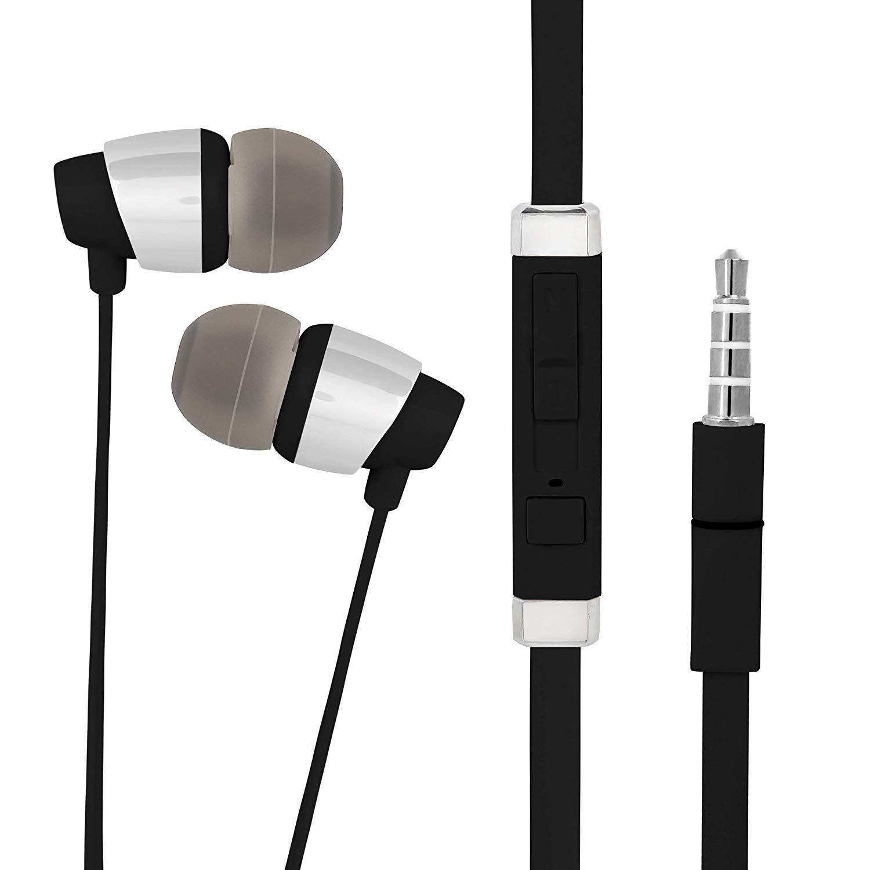 New In Ear Headphones Earphones Handsfree With Mic For All Mobile Phones /& Tabs