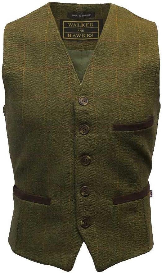 Walker & Hawkes - Men's Tweed Waistcoat Vest
