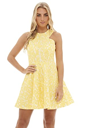 Yellow dress size 16 ladies