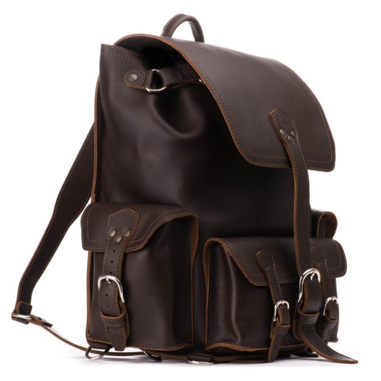 Saddleback Leather Front Pocket Backpack – Best For School, Business or Travel