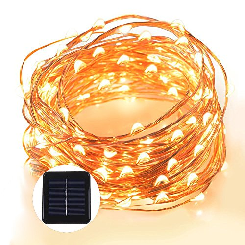 Solar Led String Lights Target - 8