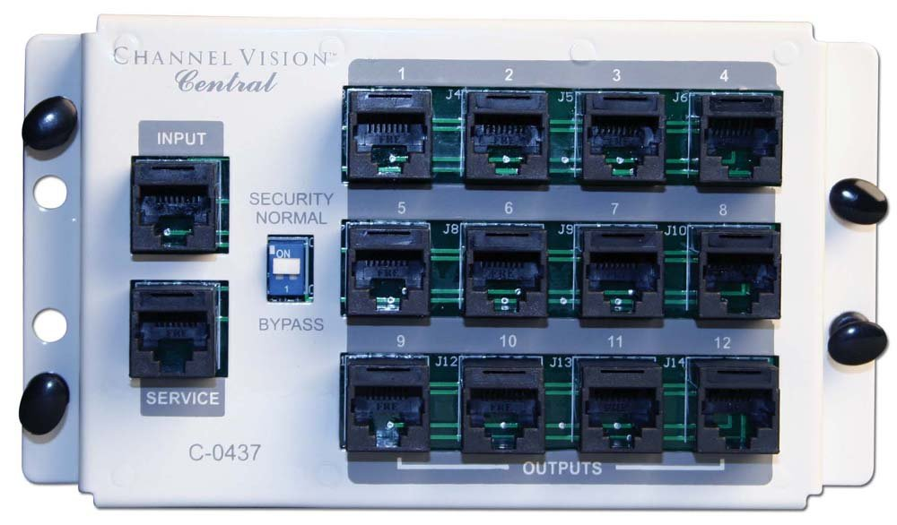 Telephone Distribution Modules CHANNEL VISION C-0437