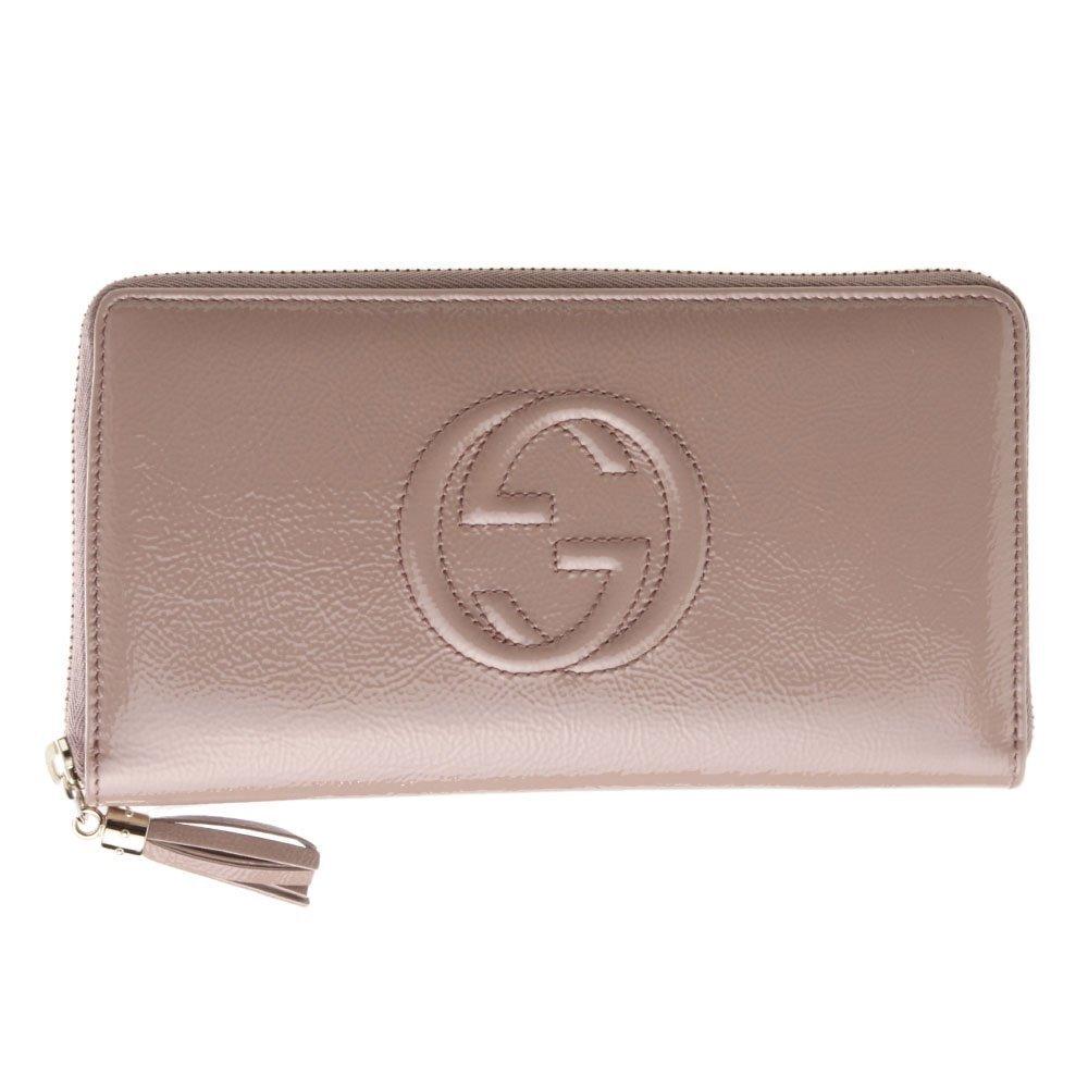 Gucci 291102 - Cartera para hombre de Charol Mujer rosa rosa L: Amazon.es: Zapatos y complementos
