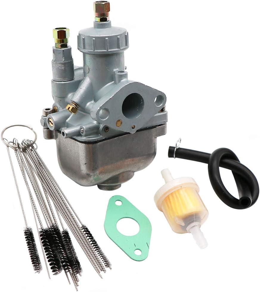 Dokili Vergaser 16mm 16n1 11 Für Simson S50 S51 S53 S70 Kr51 2 Zt Tuningvergaser Vergaser Carbon Reiniger Kit Kraftstofffilter Dichtung Auto