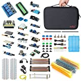 HSU Development Kit Raspberry Pi 3 Arduino 16 Different Sensor Modules,Hundreds Electronic Components,other Necessary Accessories Big Carrying Case (Advanced)