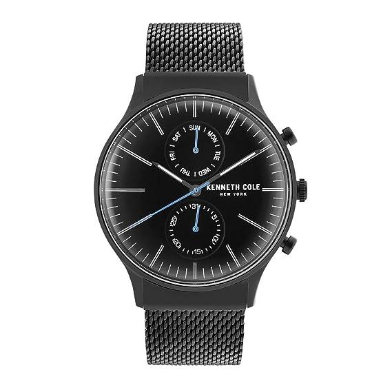 Kenneth Cole New York Reloj de Hombre Reloj de Pulsera Acero Inoxidable kc50585007: Amazon.es: Relojes