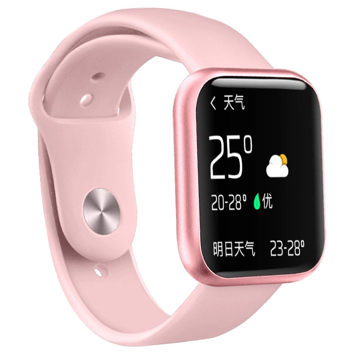 Amazon.com: Reloj inteligente con pantalla táctil completa ...
