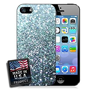Silver Glitter Shiny Sparkles Classy Princess Queen iPhone 5/5s Hard Case