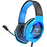 BENGOO G9500 Gaming Headset Headphones for PS4 Xbox One PC Controller, Over Ear Headphones with 720°Noise Cancelling Mic…