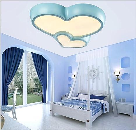 BRIGHTLLT Corazón romántico LED luz de techo cama para niños ...