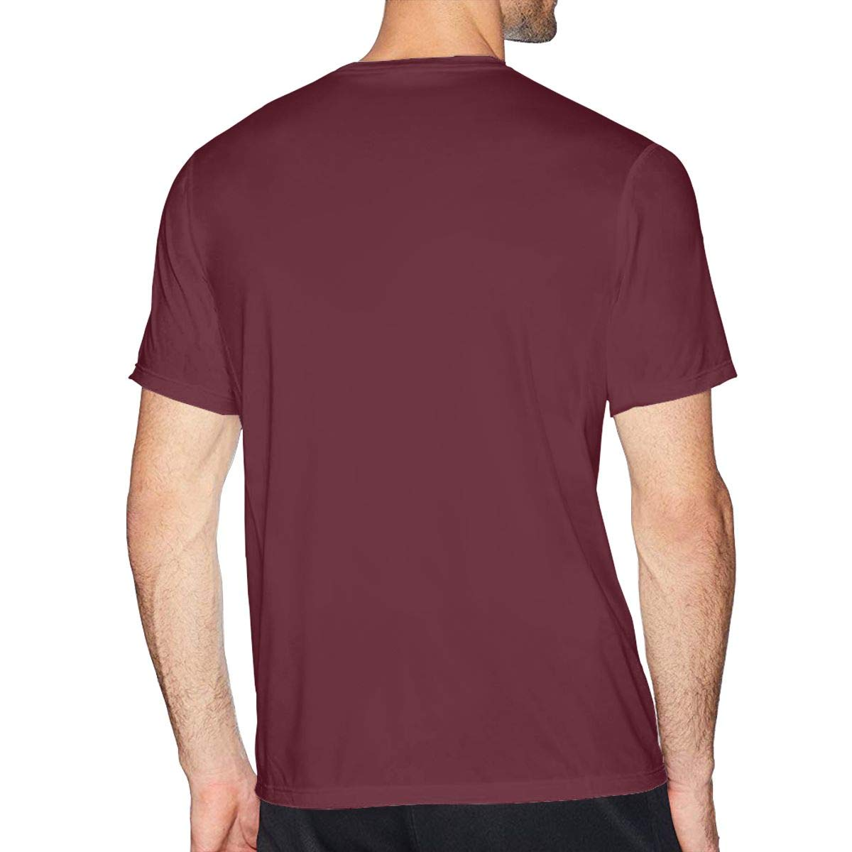 UfashionU Mens Summer T-Shirt Pizza Hut Logo T Shirt Casual Shirts for Men Big Boys Short-Sleeve Round Neck Cotton Sport Tops