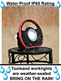 Toolsand High Power Portable Cordless Rechargeable LED Worklight Floodlight (1000 Lumens)