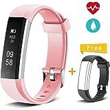 Muzili Pulsera de Actividad Inteligente Fitness Tracker Reloj Deportivo Rastreador de Actividad con Monitor de Ritmo