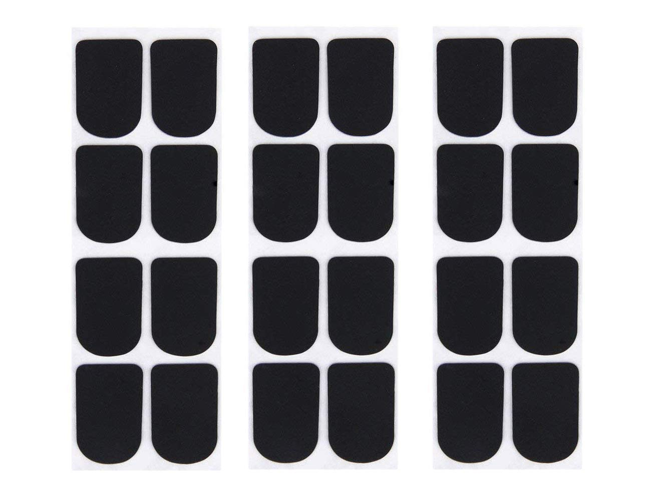 Timiy 8Pcs 0.3/0.5/0.8mm Mouthpiece Patches Pads Cushions for Sax Saxophone Clarinet