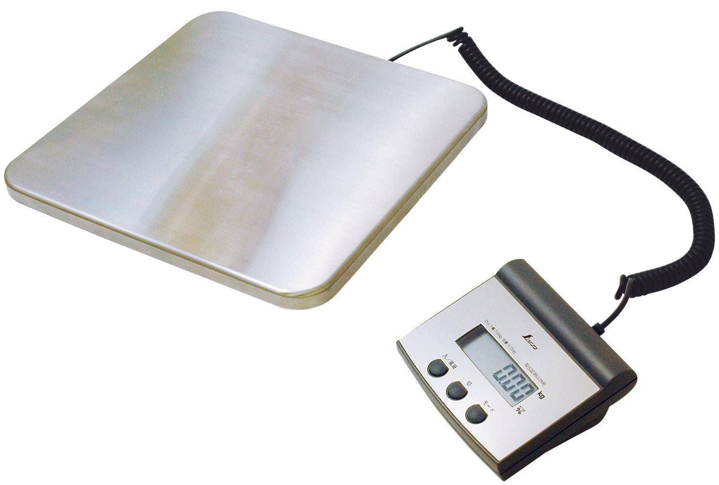シンワ測定 デジタル台はかり 隔測式 100kg