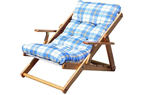 Portátil Cojín acolchado portátil Cojín - Tumbona de sillón ...