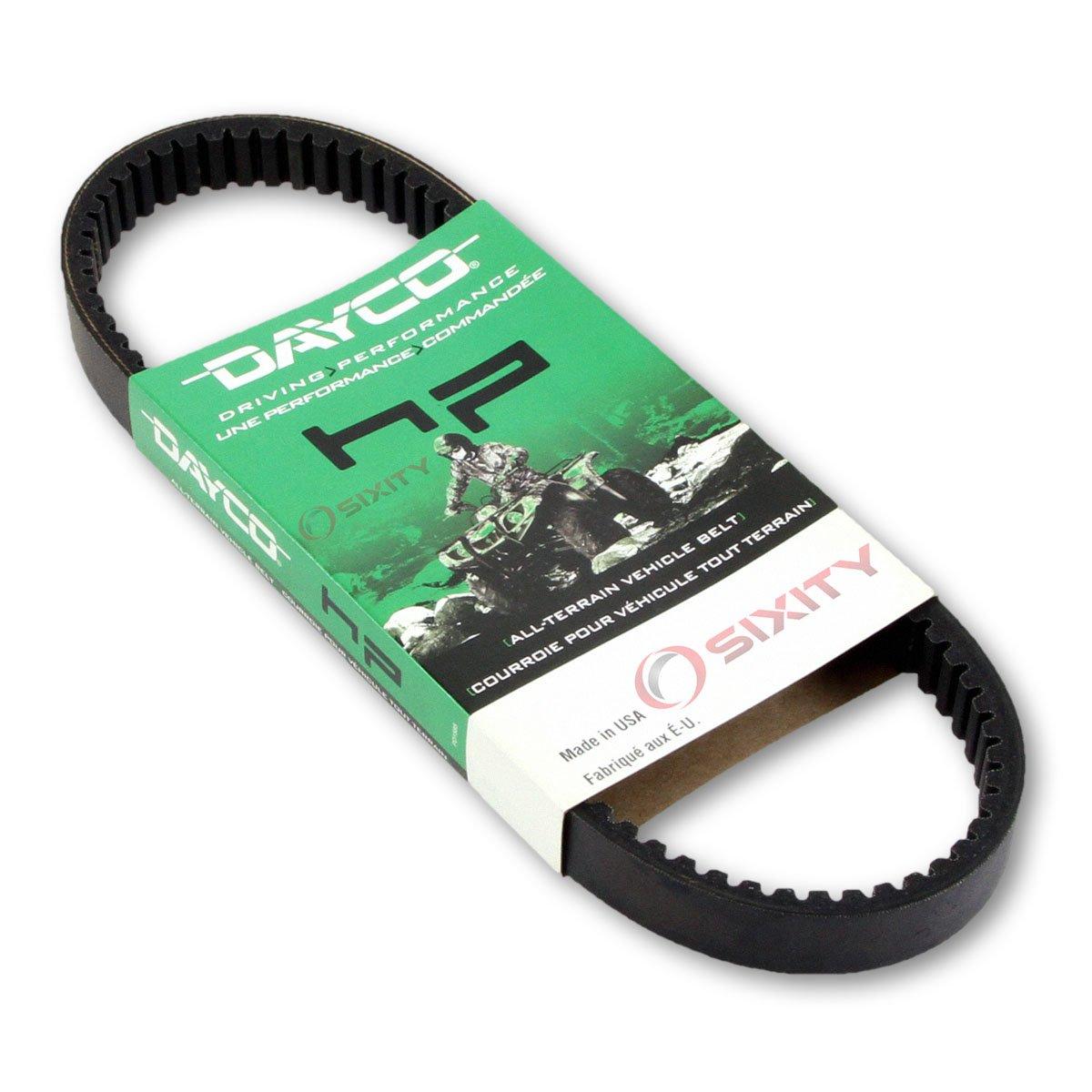 2005-2008 Kawasaki KAF620 Mule 3010 Trans 4x4 Drive Belt Dayco HP ATV OEM Upgrade Replacement Transmission Belts