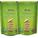 Tulsi California Roasted & Salted Pistachios (200 g Each) - Pack of 2