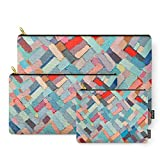 Society6 Summer In The City Carry-All Pouch Set of 3
