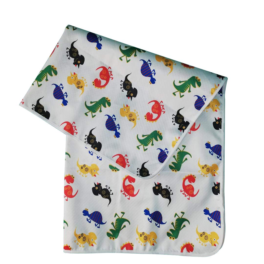 Splat Mat, Waterproof, Washable for Floor or Table, Under Highchairs, Art, Crafts, Playtime - Dinosaur by Volei