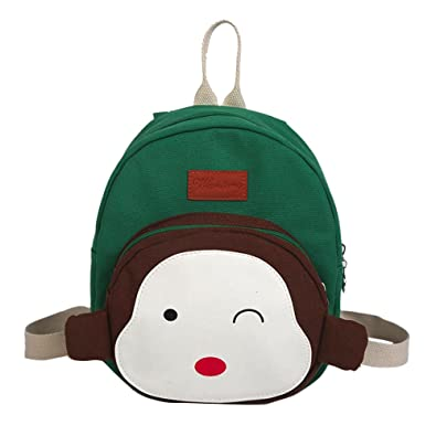 732d84697bcb ALIKEEY Child Baby Girl Boy Kids Cartoon Monkey Animal Backpack Toddler  School Bag Kindergarten Rucksack Cute Animal