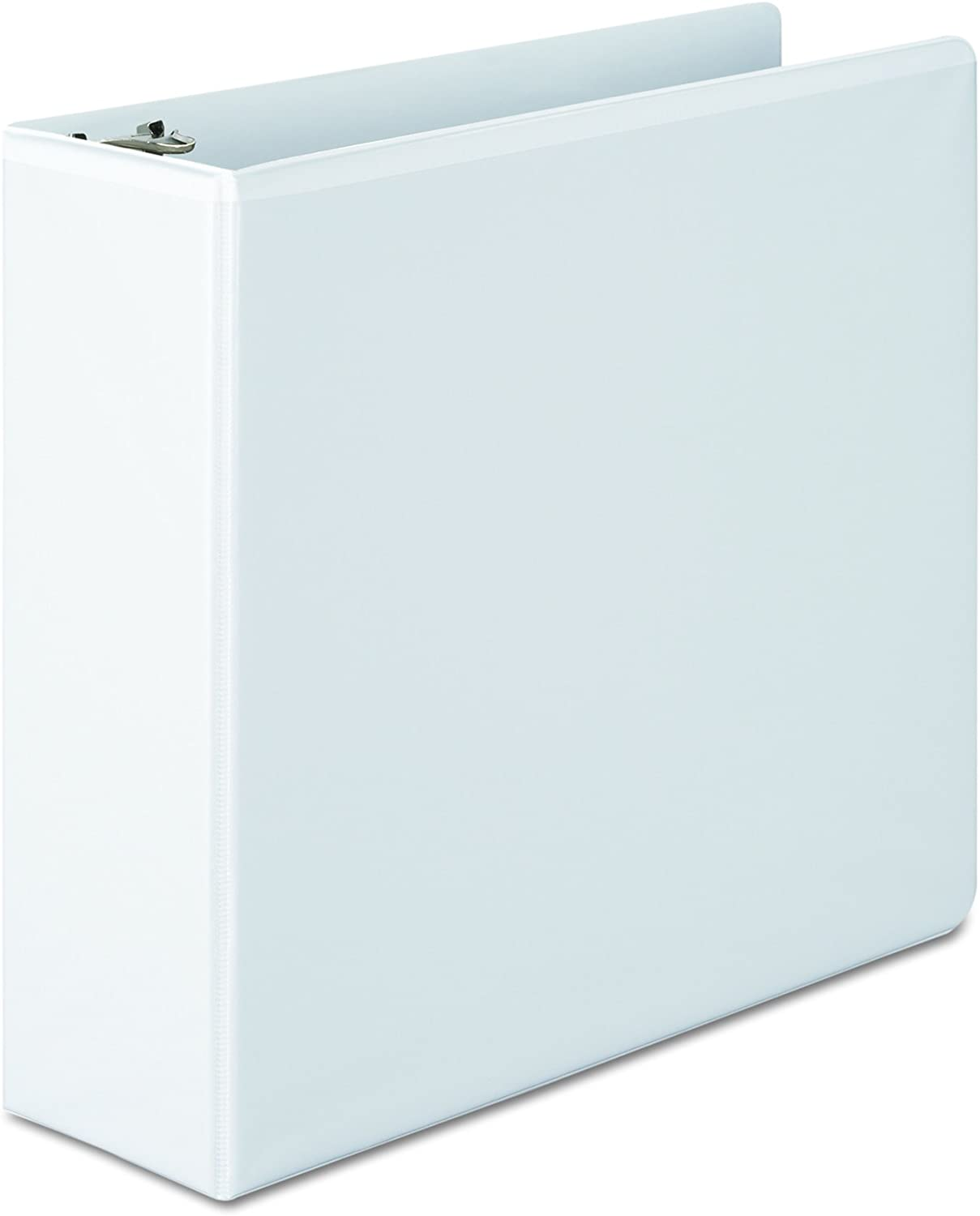 Wilson Jones 3 Inch 3 Ring Binder, Basic Round Ring View Binder, White (W362-49W) : Office Products