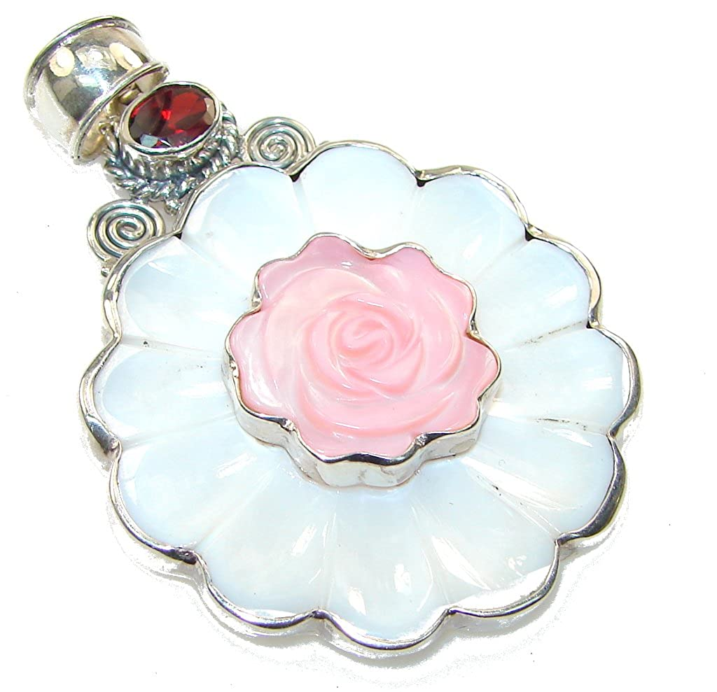 Blister Pearl Women 925 Sterling Silver Pendant FREE GIFT BOX