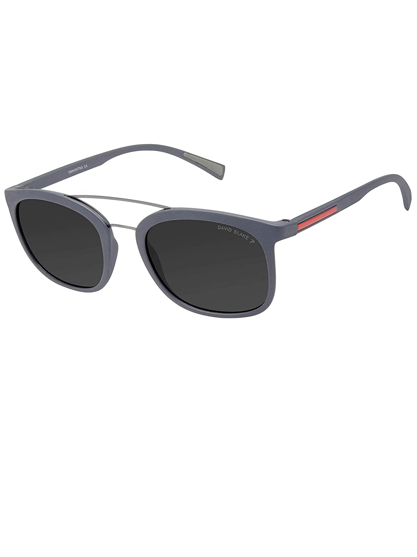 b650084d4f6 David Blake Grey Wayfarer Gradient Polarised UV Protected Sunglass -  SGDB1522xR8084C5