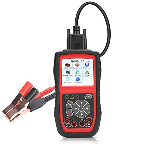 Autel AL539B is one of the best OBD2 scanner for car diagnostics.