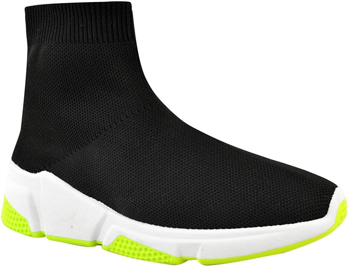 UK Womens Ladies Sneakers Trainers Sock Runners Comfy Speed Knit Gym Shoes Size