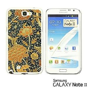 OnlineBestDigital? - Flower Pattern Hardback Case for Samsung Galaxy Note 2 - Floral Art