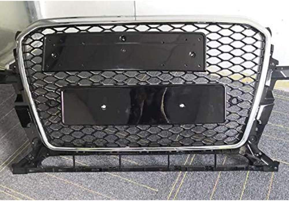 Gril Dadmission Modifi/é Accessoires Nid dabeille Avant Calandre Radiateur Voiture Pare Chocs Gril Grille pour Audi Q5 2009 2010 2011 2012 RSQ5