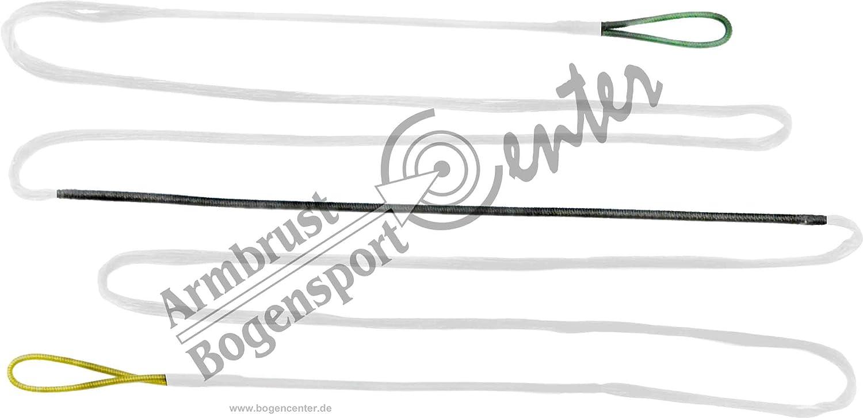 Black Flash Cuerda de Arco, Dacron Tendón 12 Strand para Longitud de Arco 70 Pulgadas, Arco, recurvebogen - Green