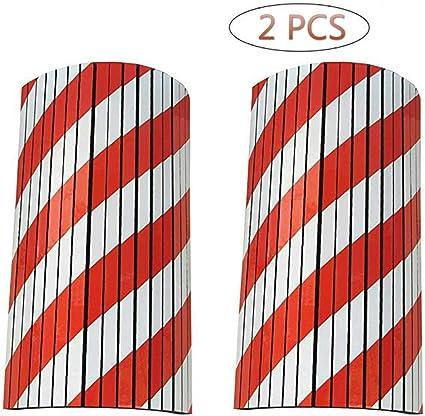 Garajes y Almacenes en Grueso Goma Espuma25*40 * 4.2cm Columnas Parking protector puerta para Aparcamientos Protectoras Paragolpes de Pared Parking Autoadhesivas