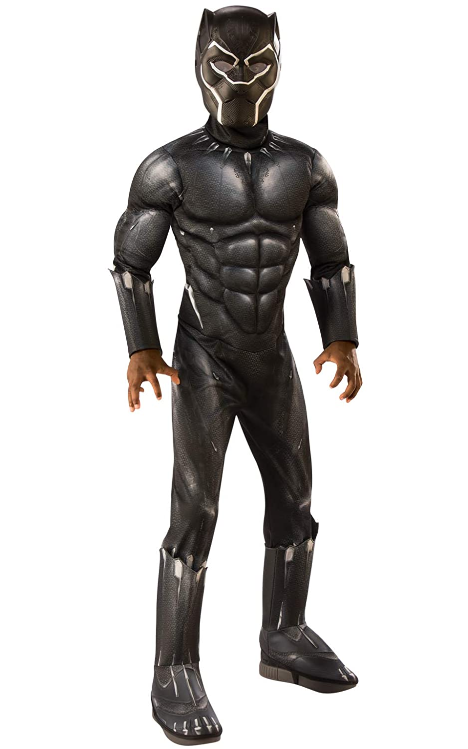 Rubie's Deluxe Black Panther Child's Costume, Grey