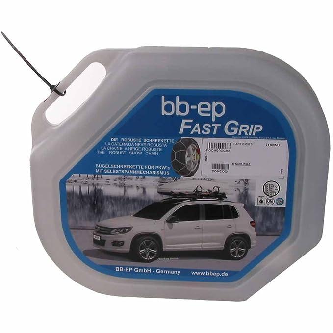 BB-EP Cadena de Nieve para Renault Scenic IV con el neumático tamaño 195/55 R20 - con selbstspannm Bandeja de Carga - Garantía de 5 años con ö de Norma, ...