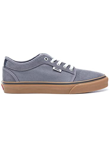 c2a464c7fc Image Unavailable. Image not available for. Color  Vans Mens Chukka Low  Pewter White Gum VN0A38CGQ2Y 6.5 US