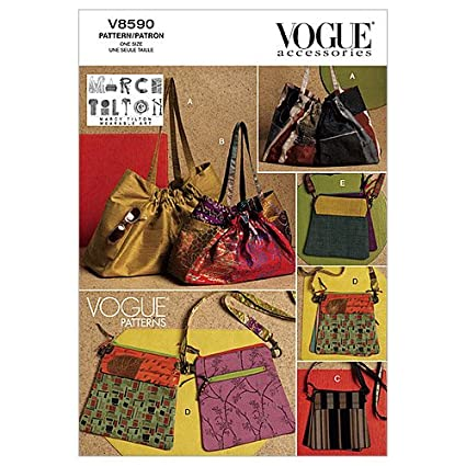 f5b954fbac9 ... Vogue Patterns 7982 Hermes Birkin bag ...