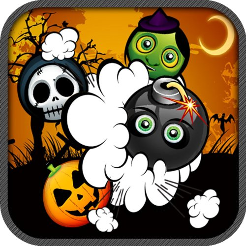 Halloween Fright Frenzy Stack Match Puzzle Game (Mac) [Download]