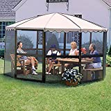 Casita® Screenhouse - 12' 4'' Round - Almond