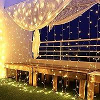 LED Sternenvorhang Lichterkette