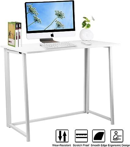 De madera plegable para ordenador, lasuavy oficina escritorio ...