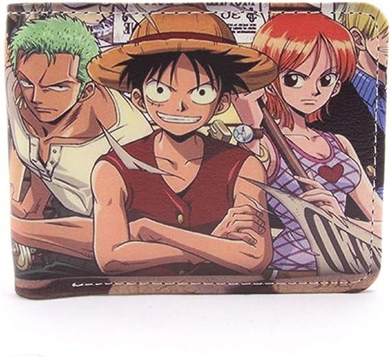 MOANKE One Piece Student Short Pu Pickup Pack Anime, Titular De La Tarjeta De Crédito Estudiante Monedero De Bolsillo: Amazon.es: Bricolaje y herramientas