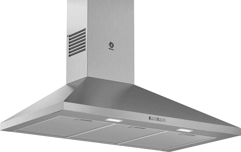 Balay 3BC694MX - Campana (360 m³/h, Canalizado/Recirculación, E, A, D, 65 dB): 131.89: Amazon.es: Hogar