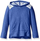 Crazy 8 Girls' Zoo Blue French Terry Popover Hoodie