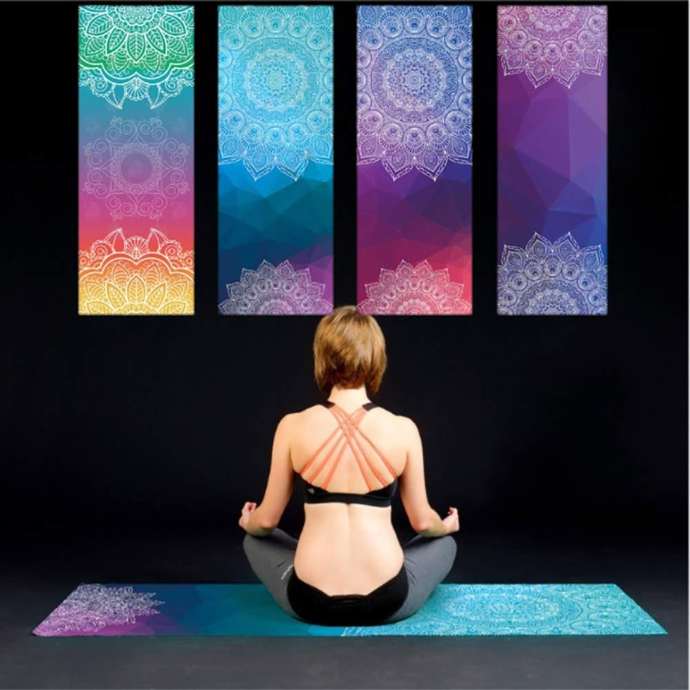 Amazon.com: LASKPN Yoga Mat Towel Sport Fitness Dance Anti ...