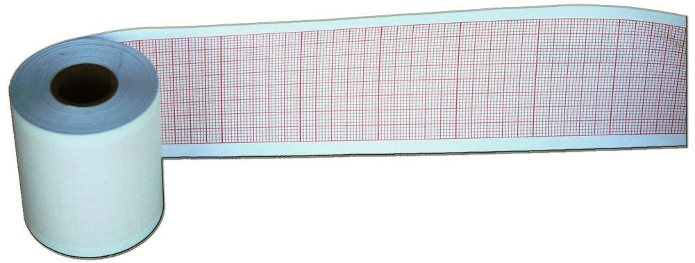 Contec Chart Papers, ECG CORE - 16mm X 50mm X 20m - 10 rolls
